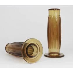 Paire de poignee marron 22mm-l 120mm