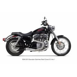 Ligne complète embout carbone Harley Davidson sportster