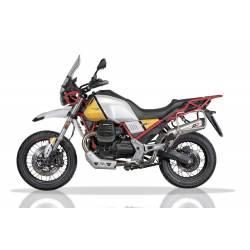 Echappement titane Moto Guzzi V85TT homologué QD Exhaust Magnum