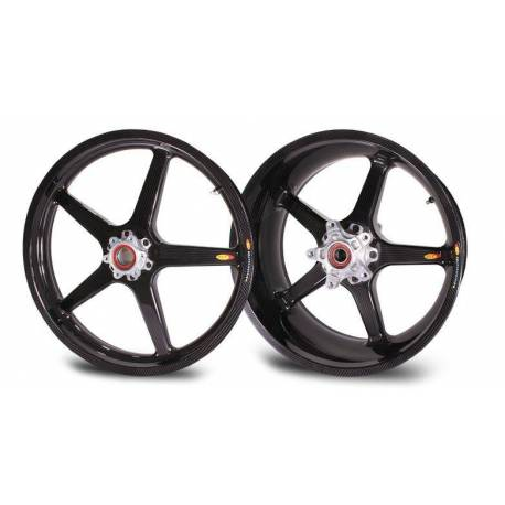 Roues carbone homologuees 5 batons BST KTM 990 SMt