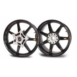 Roues carbone homologuees 7 batons BST BMW S 1200 R