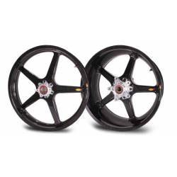 Roues carbone homologuees 5 batons BST Yamaha R 1