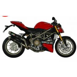 Double silencieux carbone Ducati Streetfighter