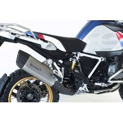Echappement HP Corse SP-3 SHORT CARBON inox satine RACING BMW R 1250 GS