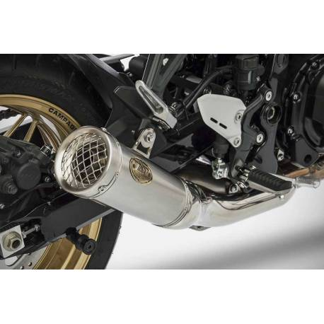 Pot échappement moto inox Zard Homologué Kawasaki Z 900 RS