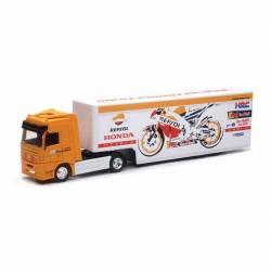 Modèle réduit camion atelier Honda Repsol racing 1/43