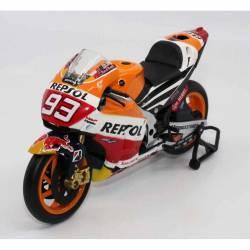 Modèle réduit Honda MotoGP Marc Marquez 1/12