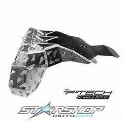 Sabot moteur et échappement en aluminium avec protection Beta XTrainer 2015 2022