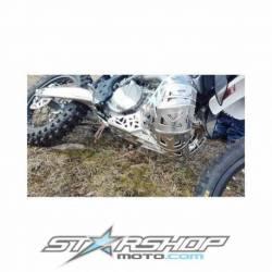 Sabot moteur et échappement en aluminium KTM Husqvarna 2017