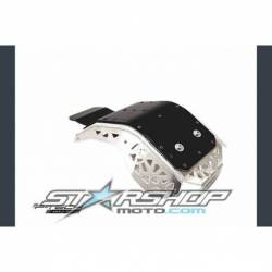 Sabot moteur en aluminium avec protection KTM EXCF Husqvarna FE 4 tps 2017