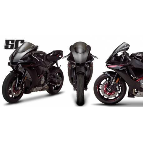 Bulle Zero Gravity type origine Yamaha YZF R1 LE
