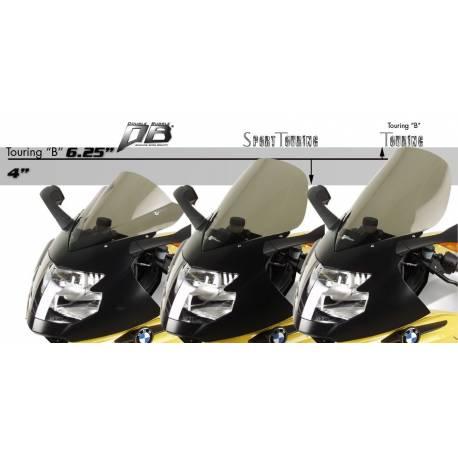 Bulle Zero Gravity réhaussée sport touring BMW K1200 1300 S taller profile