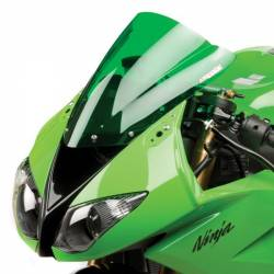Bulle gp double courbure verte Hotbodies Racing Kawasaki ZX 6 10R