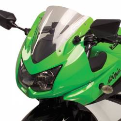 Bulle gp double courbure transparente Hotbodies Racing Kawasaki Ninja 250 r
