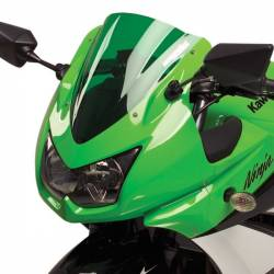Bulle gp double courbure verte Hotbodies Racing Kawasaki Ninja 250 r
