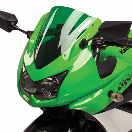 Bulle gp double courbure verte Hotbodies Racing Kawasaki Ninja 250 r