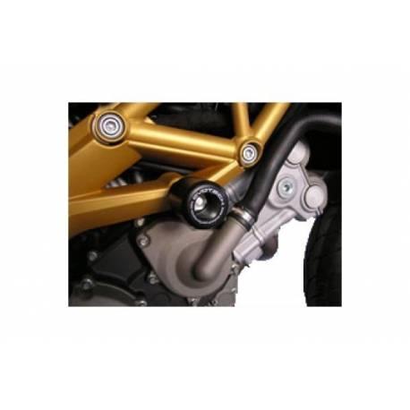 Aprilia Dorsoduro-shiveR 750 roulettes de protection de cadre