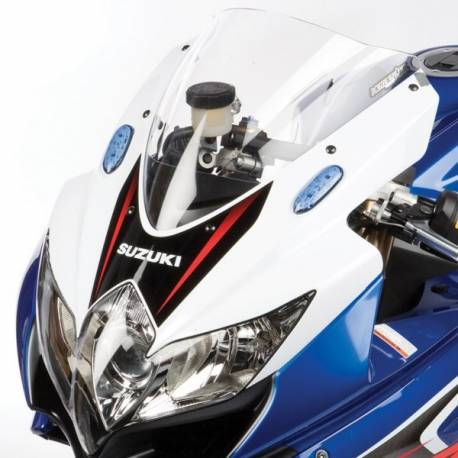 Bulle gp double courbure transparente Hotbodies Racing Suzuki GSXR 600 750