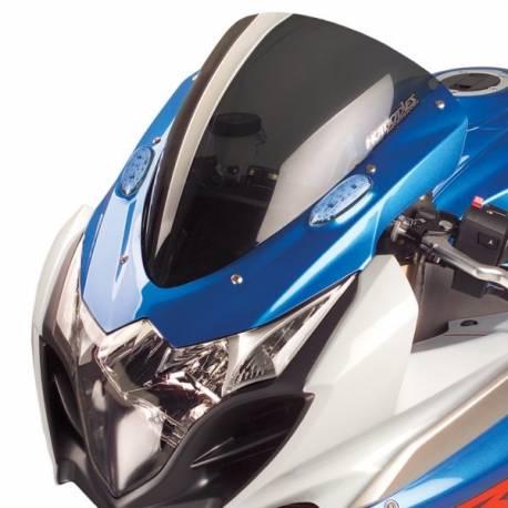 Bulle type origine fumée noir sombre Hotbodies Racing Suzuki GSXR 1000