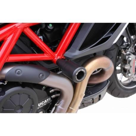 Ducati Diavel roulette de protection