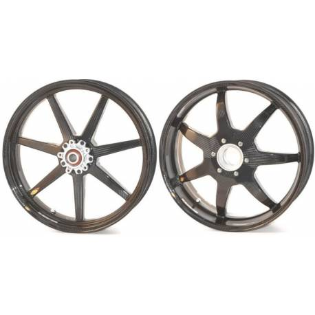 Roues carbone homologuees 7 batons BST Ducati 848