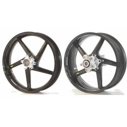 Roues carbone homologuees 5 batons BST Suzuki Hayabusa