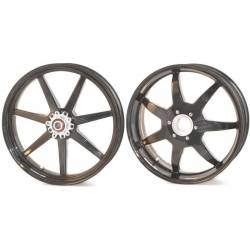 Roues carbone homologuees 7 batons BST Ducati Hypermotard 1100 1100 S