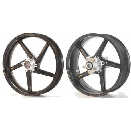 Roues carbone homologuees 5 batons BST KTM RC 8