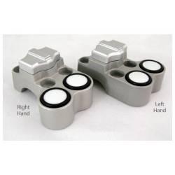 Contacteur droit ISR 1 latéral et 2 boutons push type 1 D25-4