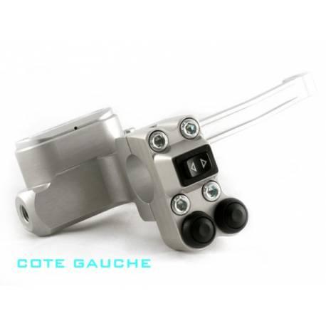Contacteur gauche ISR 1 latéral t et 2 boutons push type 2 D25-4