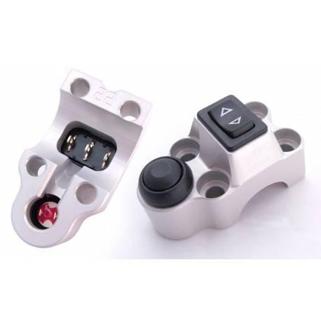 Contacteurs ISR 1 latéral t et 1 bouton push type 2 D25-4