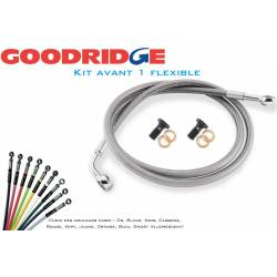Kit durite aviation avant 1 flexible Goodridge