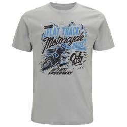 Flat track race Oily Rag tee shirt