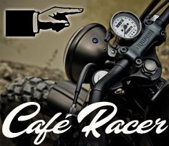 Moto espace Café Racer