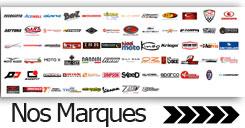 Nos marques accessoires pièces motos